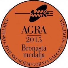 Bronasta medalja AGRA 2015